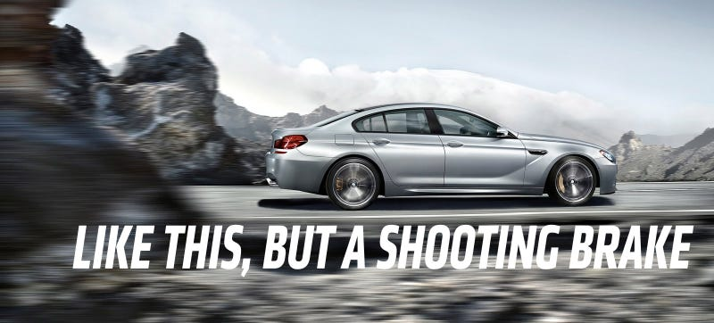 Illustration for article titled Could BMW Really Make A 6-Series Shooting Brake Wagon?