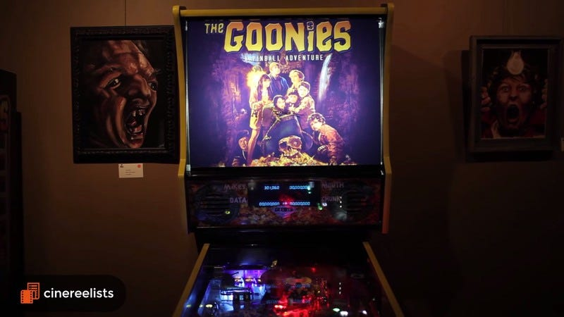 "Illustration for article titled Goonies never say ""die"" or ""tilt"" with this rad new custom pinball machine"