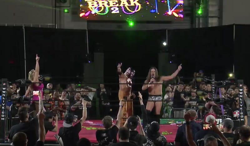 The Great Sasuke & Joey Janela take their bows to close Joey Janela's Spring Break 2.