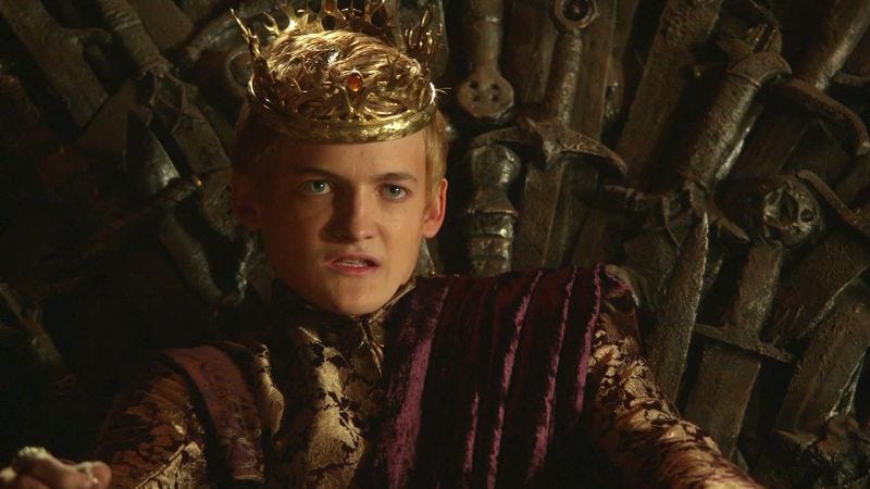 Illustration for article titled Today is a day officially dedicated to hating Game Of Thrones' Joffrey