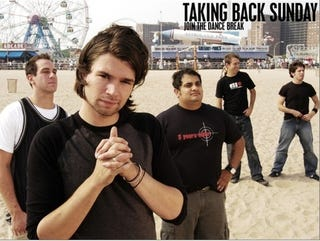 """Illustration for article titled I Was There: Ripping On """"Taking Back Sunday"""""""