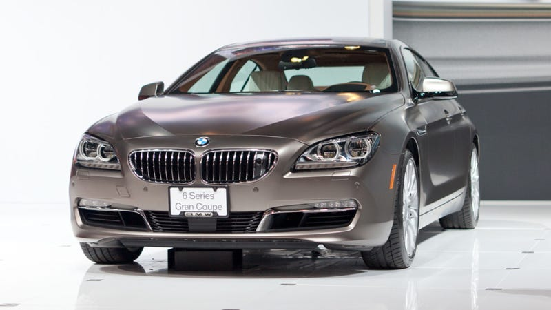 Illustration for article titled 2013 BMW 6 Series Gran Coupe: Twice The Doors For Twice The Pricks