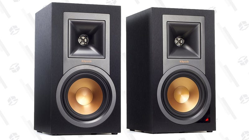 Klipsch R-15PM Powerd Speaker Pair | $282 | Amazon | Promo code MC93LRPF