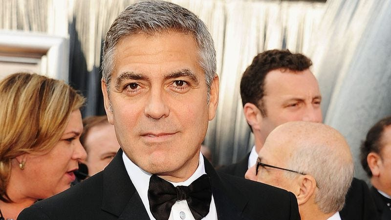 Illustration for article titled George Clooney Beginning To Think He Should Buy His Own Tuxedo