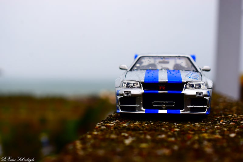 Illustration for article titled Nissan Skyline r34 (2 Fast 2 Furious/Brian O'conner Edition)