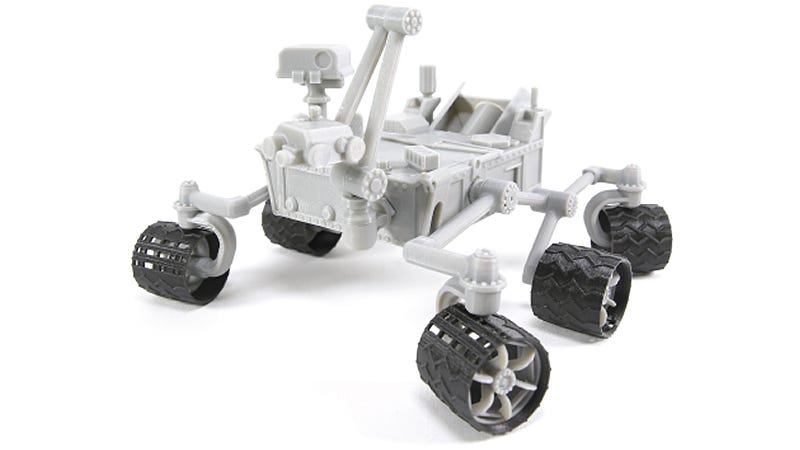 Illustration for article titled NASA Released a Free 3D-Printable Model of the Curiosity Rover