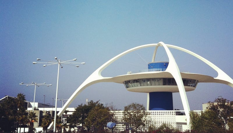 The Theme Building at Los Angeles International Airport (Photo by Matt Novak)