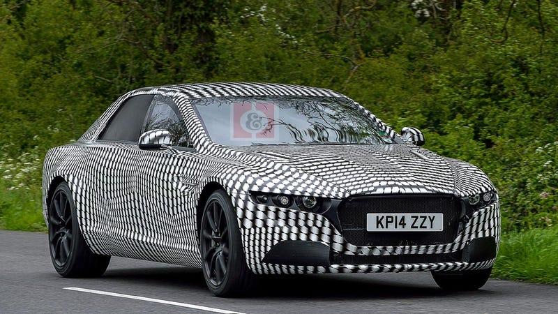 Illustration for article titled Aston Martin better name this super-limo Lagonda