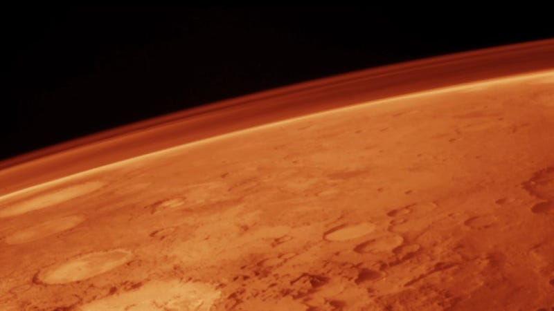 Illustration for article titled Here's why everybody is freaking out about methane on Mars