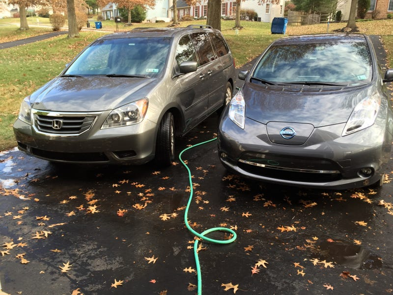 Illustration for article titled Washed both cars today.