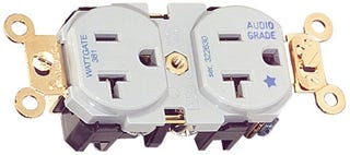 """Illustration for article titled Wattgate 381 """"Audio Grade"""" Socket Is For Suckers Only"""