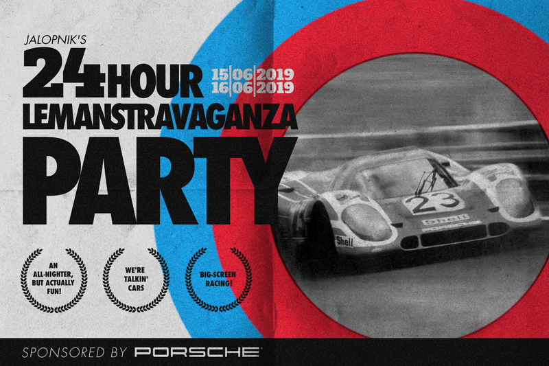 Illustration for article titled Bask In The Glory Of The Cars At Our Le Mans Party This Weekend
