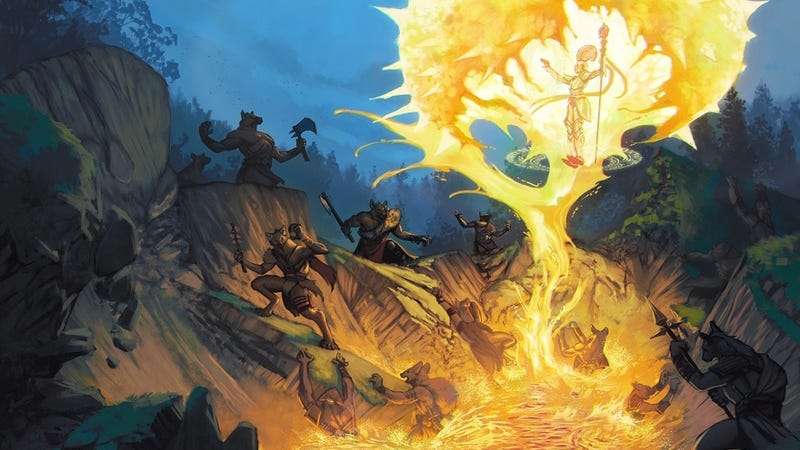 Deep Magic brings exotic spells and wizard schools to your RPG