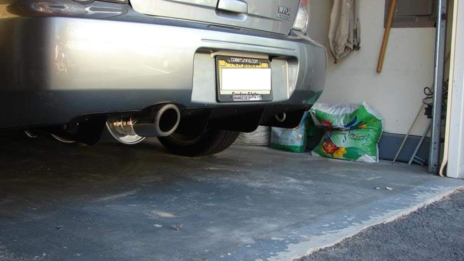 Awesome DIY rear diffuser