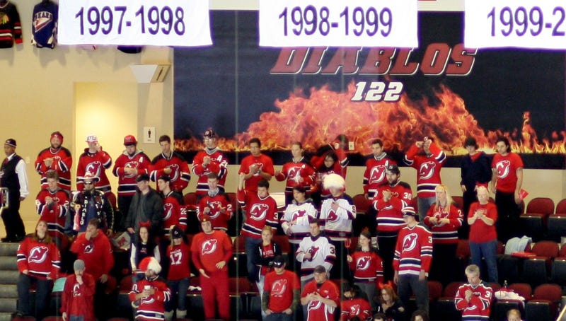 Illustration for article titled Attending A Devils Game In A Zach Parise Jersey Sounds Like Hell [Updates]