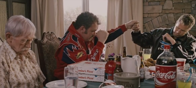Screencap via Talladega Nights