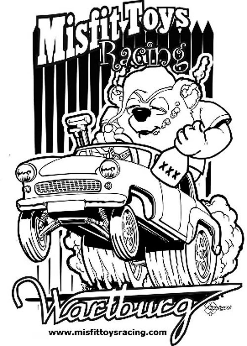 The coloring book project 2nd edition - Dad Won T Mind A Late Gift When It S A Misfit Toys Wartburg T Shirt
