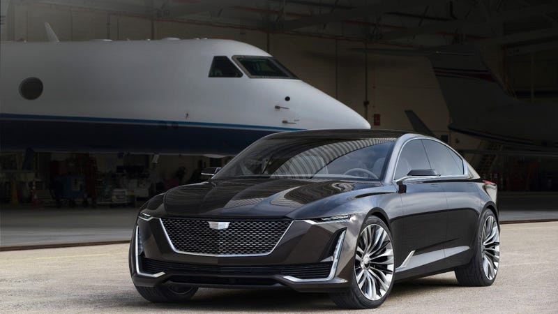 the cadillac escala concept is one step closer to a. Black Bedroom Furniture Sets. Home Design Ideas