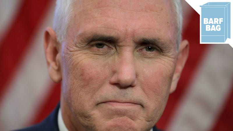 Illustration for article titled Wistful Pumpkin Mike Pence Yearns for a More 'Respectful Time'