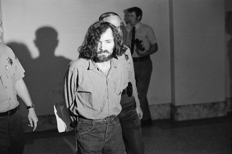 Charles Manson. Imagen: AP