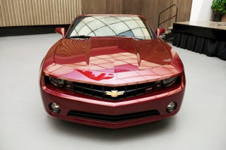 Illustration for article titled Chevy Camaro Convertible: The Top Drops