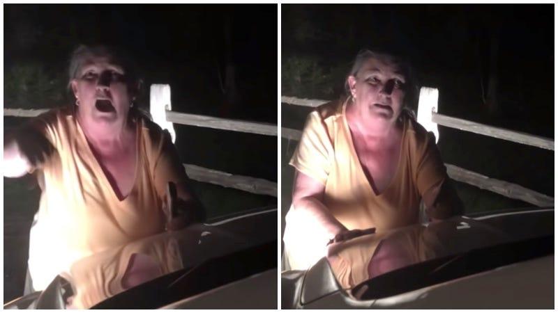 Illustration for article titled Una mujer perdió su trabajo después de que un vídeo en el que aparece gritando a un conductor se hiciera viral