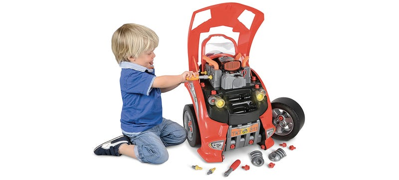 Illustration for article titled This Playset Teaches Your Kids How to Take Care of a Real Car