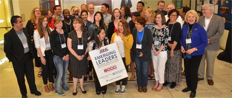 """The American Society of News Editors created """"Emerging Leadership Institutes"""" such as this one held in June at Loyola University in Chicago to increase diversity in newsroom management. Ralph Braseth, Loyola University Chicago School of Communication"""