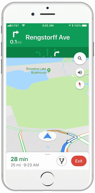 How to Turn Your Google Maps Location Icon Into a Cartoon Car
