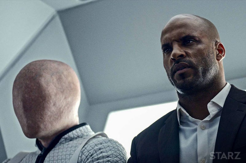 Ricky Whittle as Shadow Moon in American Gods (Starz)