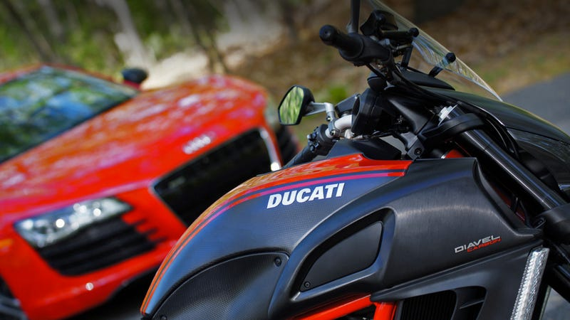 Illustration for article titled Why Audi Just Bought Ducati