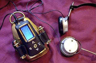 Illustration for article titled MP3 Player, Steampunk Style