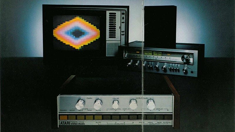 Illustration for article titled Atari Video Music Was Like Winamp For The 1970s