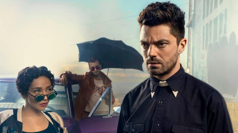 Ruth Negga, Joseph Gilgun, Dominic Cooper (Photo: AMC)