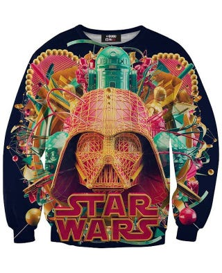 Illustration for article titled The Ugliest Star Wars Shirt of All Time Has Been Achieved