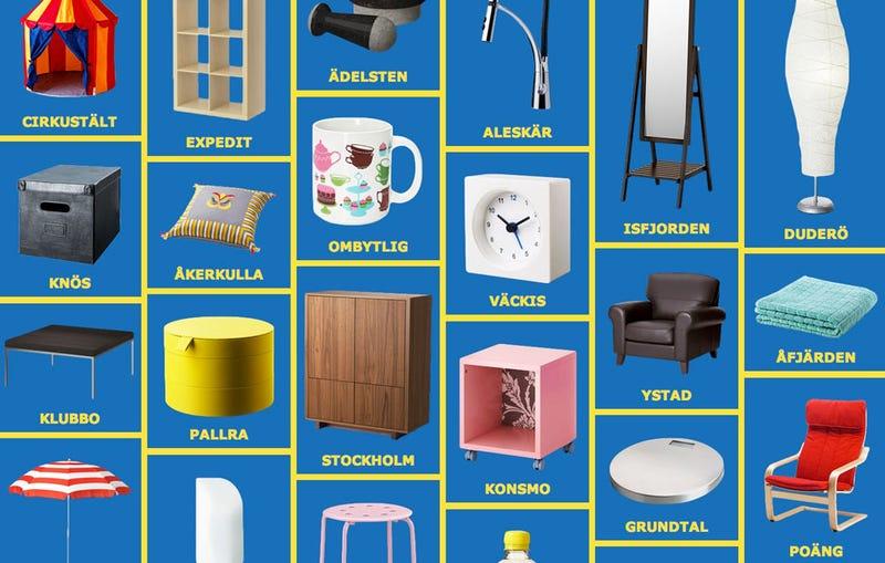 Illustration for article titled Cómo pronunciar bien los nombres de los muebles de Ikea