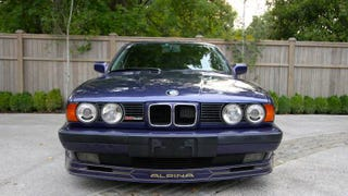 Illustration for article titled For $25,000, This 1989 Alpina B10 3.5/1 Could Be Playing Your Tune