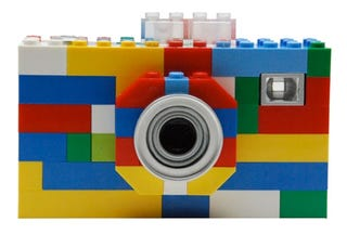 Illustration for article titled Lego Camera, MP3 Player, Walkie-Talkie Sadly Not Made From Actual Legos
