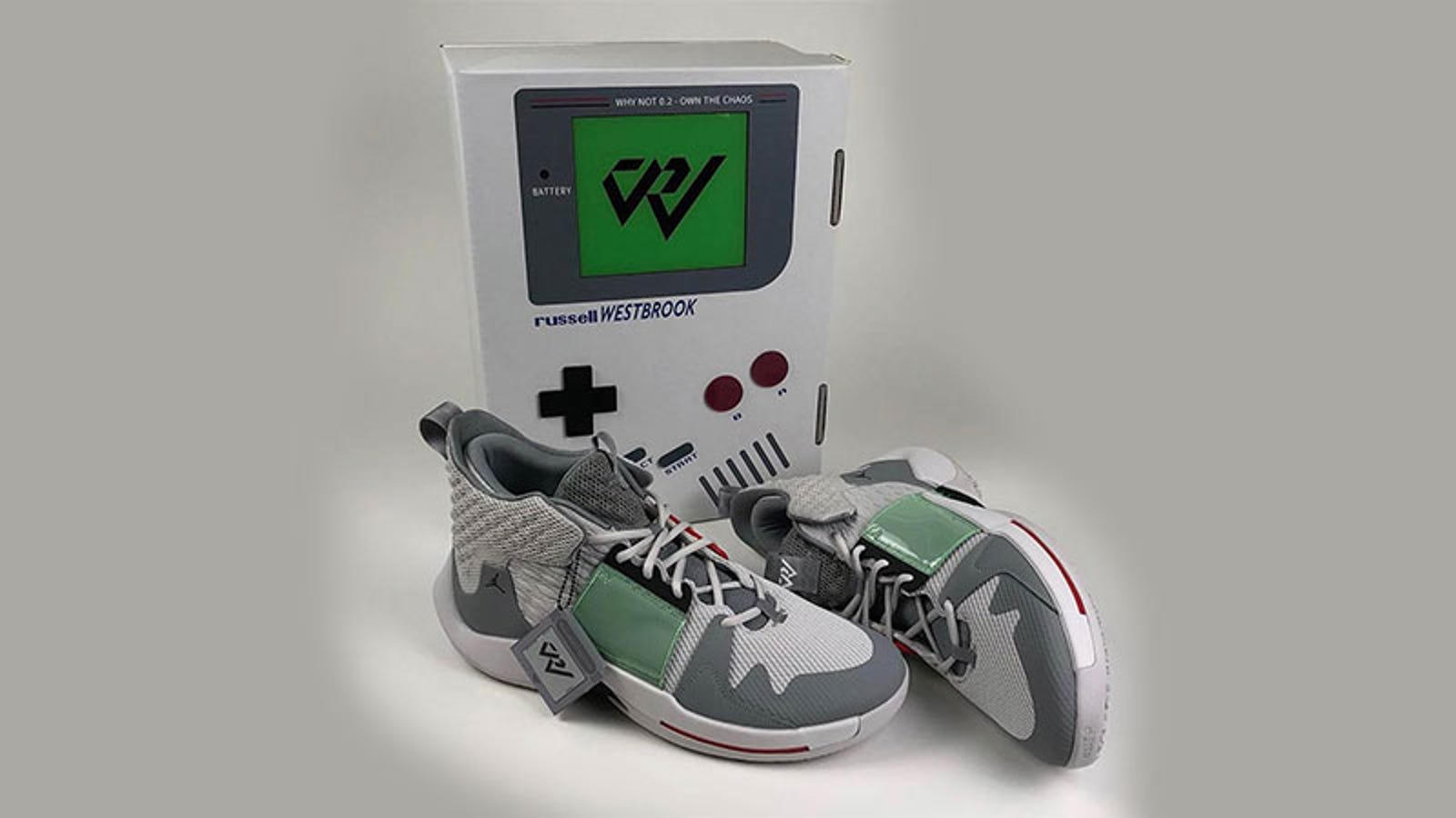 NBA Star's Game Boy Jordans Are Just Lovely