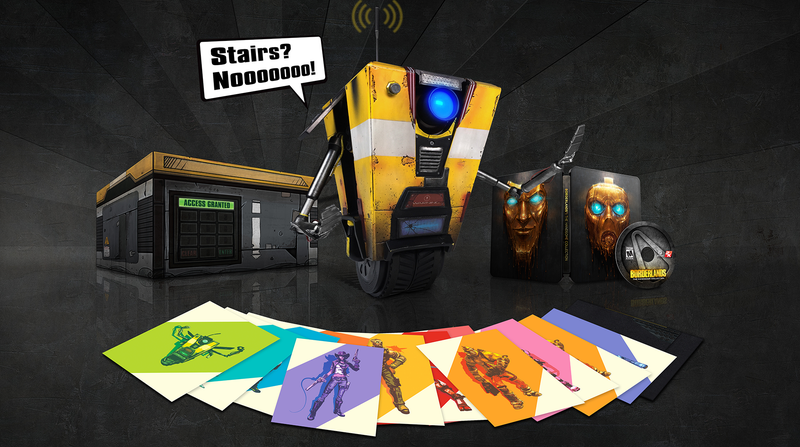 Illustration for article titled $400 Version of Borderlands New-Gen Port Will Get You Your Own Claptrap