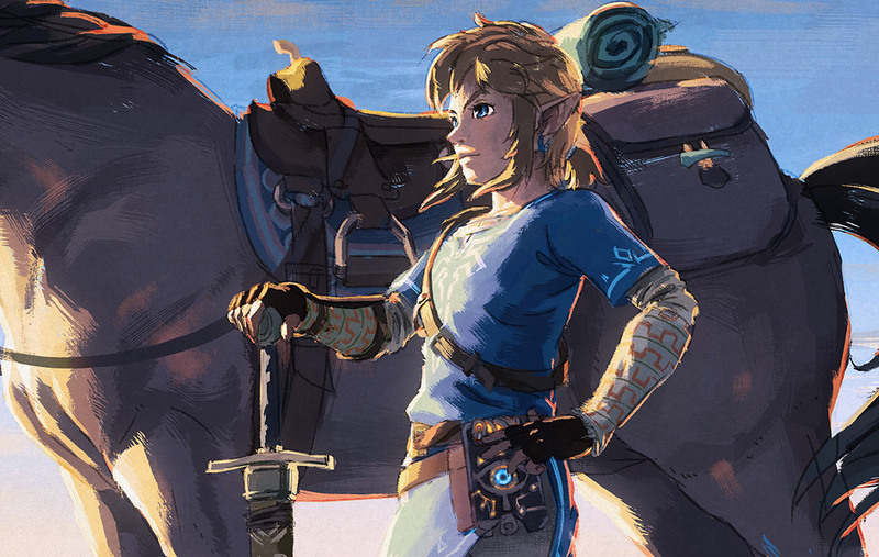 Illustration for article titled Zelda: Breath Of The Wild Is Getting A Second Wind Thanks To Switch Update