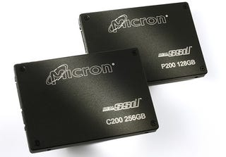 Illustration for article titled Micron Starts Production of Super-Fast RealSSD Solid-State Drives