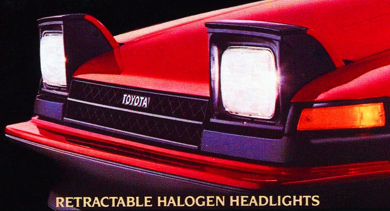 Illustration for article titled i Guess Pop-Up Headlights Are Cool....
