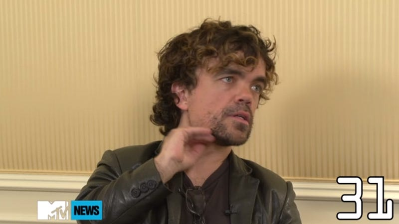 Illustration for article titled Peter Dinklage Explains Everything About Game of Thrones in 45 Seconds