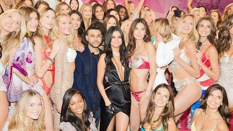 Illustration for article titled The Weeknd Seems to Like Models