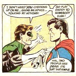 Illustration for article titled Superman Returns In Green Lantern Movie?