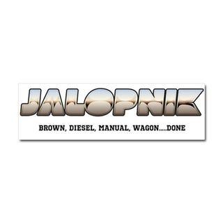Illustration for article titled Jalopnik Car Magnet
