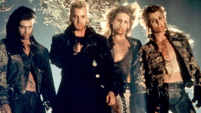 A scene from the original Lost Boys.