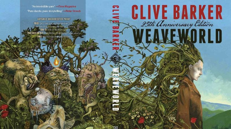 Illustration for article titled Clive Barker is adapting his novel Weaveworld for The CW