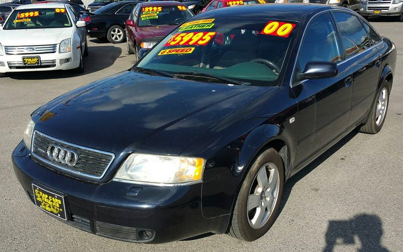 For 4 995 this 2000 audi a6 2 7 quattro could make you for Interieur audi a6 2000